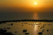 عکس/ غروب غزه