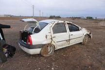 واژگونی سواری یک کشته و پنج مجروح بر جا گذاشت