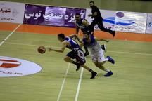 تیم بسکتبال شهرداری گرگان، آویژه صنعت مشهد را شکست داد