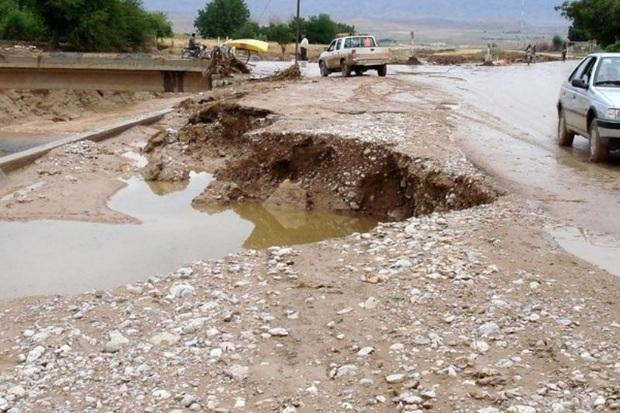 اکیپ های راهداری در مناطق مستعد سیل استان اصفهان مستقر شدند