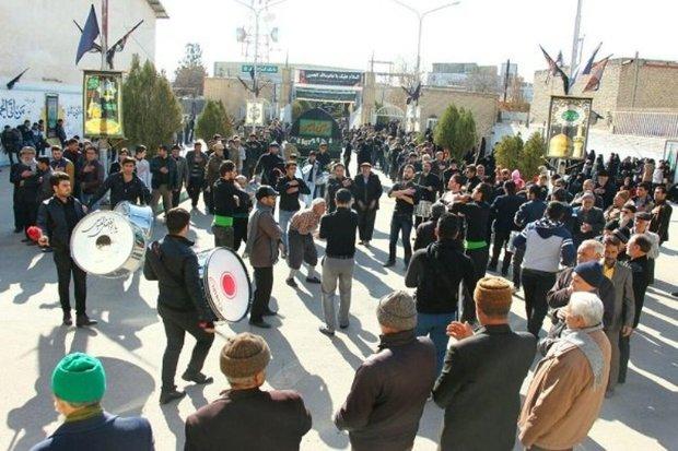 خراسان شمالی در رحلت رسول مکرم اسلام(ص) به سوگ نشست