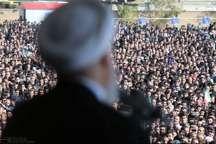 استقبال از رئیسجمهوری در گیلان؛ تجلی حمایت ملت از دولت