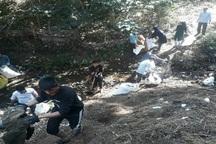 روستاهای دیلمان  از زباله  پاک می شوند