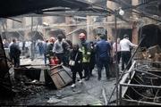 جهانگیری: هیات دولت به جبران خسارات آتش سوزی بازار تبریز کمک می کند