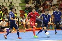 ژاپن، قهرمان فوتسال زیر ۲۰ سالههای آسیا  تیم افغانستان، یک گام کم آورد