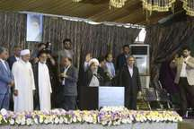 جشن خودکفایی بنزین، با حضور رئیس جمهوری در بندرعباس