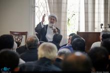 عزاداری شهادت حضرت امام صادق(ع) در محضر استاد امجد