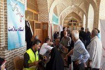 ۸۵ شهروند قزوینی از خدمات پزشکی در حاشیه نماز جمعه استفاده کردند