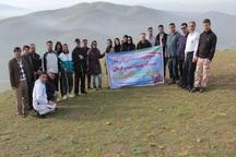 همایش کوهپیمایی هفته سلامت در میاندوآب برگزار شد