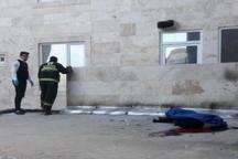 سقوط از ساختمان 6 طبقه جان مرد ساوجی را گرفت