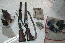 دستگیری چهار شکارچی متخلف در شهرستان شوشتر