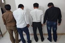 دستگیری چهار شکارچی غیرمجاز در ارزوئیه
