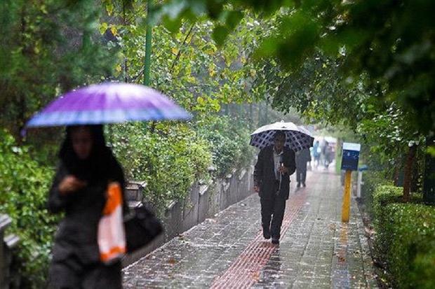 موج بارندگی ها شمال و غرب خوزستان را فرا گرفت