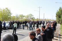 تجمع بزرگ هیات های مذهبی شهرستان درمیان برگزار شد