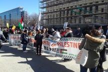 تظاهرات علیه آیپک و و آپارتاید صهیونیستی+ تصاویر