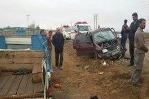 تصادف در جوین هشت مجروح بر جای گذاشت
