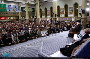دیدار مسئولان نظام و سفرای کشورهای اسلامی