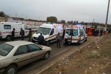 واژگونی مینی بوس در تهران بیش از 20 مصدوم داشت