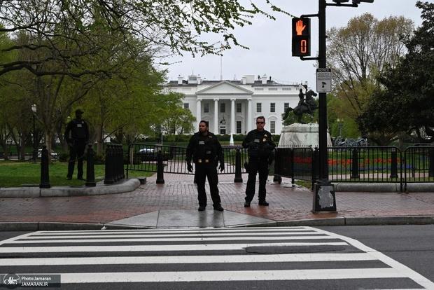 خودسوزی مقابل کاخ سفید