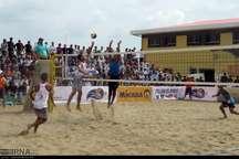 مرحله مقدمانی تور جهانی والیبال ساحلی در بندرترکمن پایان یافت