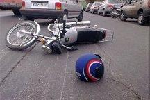 راننده موتورسیکلت در تصادف با خودرو پژو جان باخت