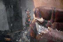 آتشسوزی منزل مسکونی در بوشهر بر اثر اتصال برق کولر