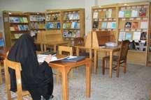 سرانه کتابخانه در همدان بالاتر از میانگین کشوری است