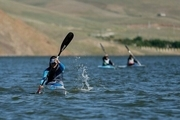 قایقران هرمزگانی در اردوی تیم ملی آبهای آرام بانوان حضور یافت
