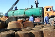 13 هزار لیتر سوخت قاچاق در ریگان کشف شد