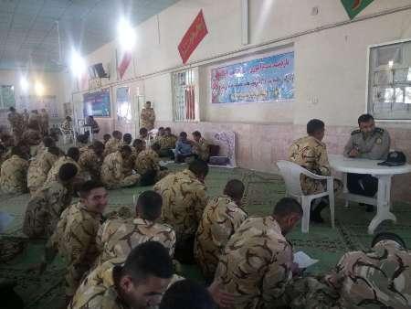 تیپ 177 تربت حیدریه عنوان برتر نمازآموزی نیروی زمینی ارتش را کسب کرد