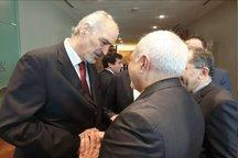 رایزنی سفیر سوریه با ظریف در نیویورک