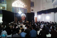 مراسم بزرگداشت نخستین سالگرد رحلت آیت الله هاشمی در دانشگاه امام خمینی کراچی+تصاویر