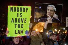 تظاهرات ضدترامپ در حمایت از تحقیقات راشاگیت+ تصاویر