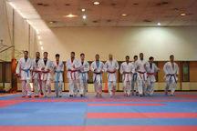 اردوی تیم های ملی جوانان و امید کاراته در قزوین آغاز شد