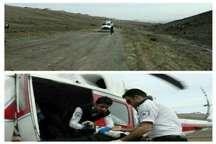 انتقال 4مصدوم به مراکز درمانی توسط اورژانس هوایی البرز