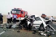 برخورد پژو پارس با کامیون در قزوین 2 کشته و 2 مصدوم برجا گذاشت