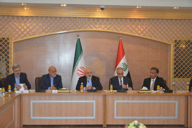 ظریف: روابط مستحکم  به سود ایران، عراق و منطقه است