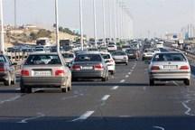 تردد خودروها در جاده های استان یزد 20 درصد افزایش دارد