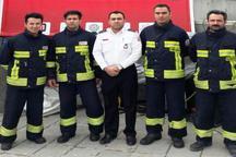 تیم آتش نشانی البرز در جمع 16 تیم منتخب کشور قرار گرفت