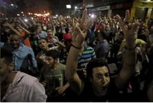 تظاهرات بی سابقه مصری ها علیه السیسی در شهرهای مختلف+عکس