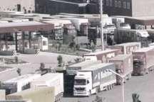 تردد کامیون های ترانزیت در مرز دوغارون به کندی انجام می شود