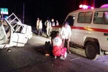 تصادف در منطقه حیران آستارا یک کشته و چهار مصدوم برجا گذاشت