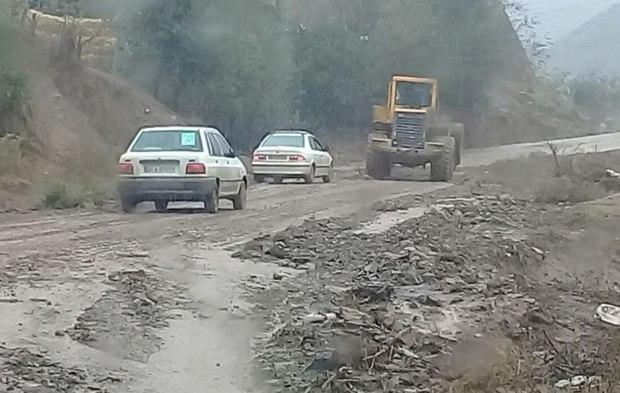 بارش شدید 28میلیارد ریال به راه های گلستان آسیب زد