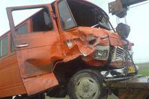 واژگونی مینیبوس سرویس دانشآموزان در محور بروجن ۲ زخمی داشت