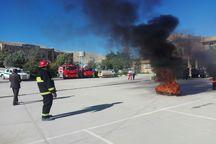 تمرین ایمنی و زلزله در مدارس شهرستان ایذه برگزار شد