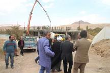 بخشدار ندوشن تسریع در ساخت مرکز جامع سلامت بخش را خواستار شد