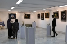 نمایشگاه « طرح، رنگ و حجم» در تبریز گشایش یافت
