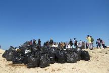جزیره خارگو به مناسبت روز ملی خلیج فارس فارس پاکسازی شد