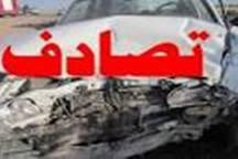 سانحه رانندگی در محور قدیم ساوه- همدان 2 کشته به جای گذاشت