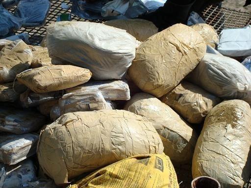 کشف 202 کیلوگرم مواد مخدر در هندیجان
